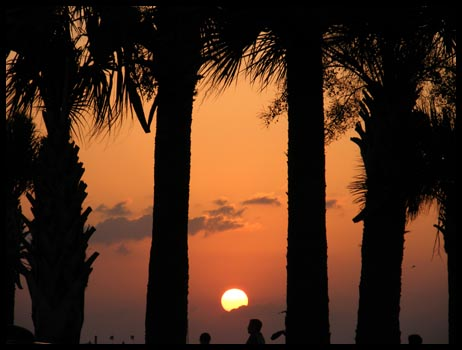 Sunset over Clearwater Beach, Florida