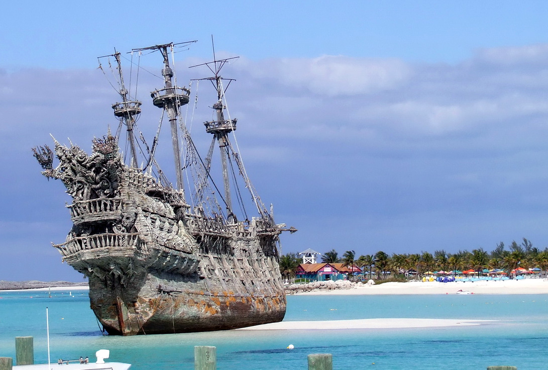 The Flying Dutchman from Pirates Of The Caribbean