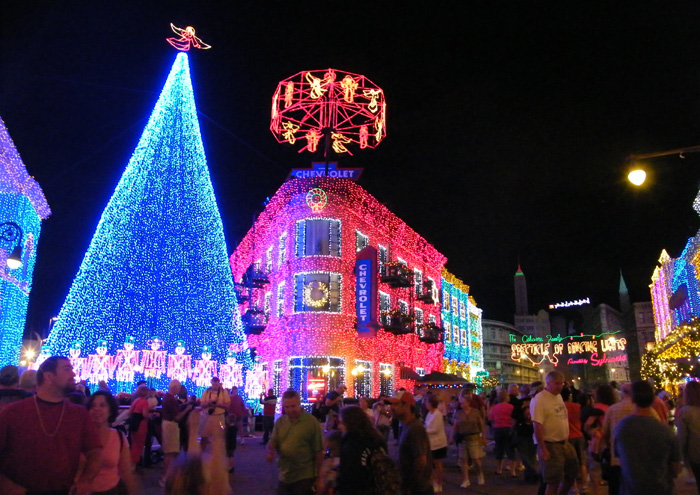 2009 Osbourne Family Spectacle of Dancing Lights @ Hollywood Studios
