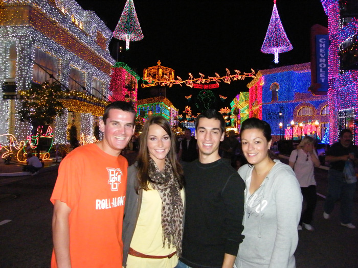 The crew at the 2009 Osbourne Family Spectacle of Dancing Lights @ Hollywood Studios