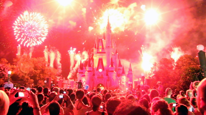 Summer Time Wishes Fireworks Spectacular at Magic Kingdom