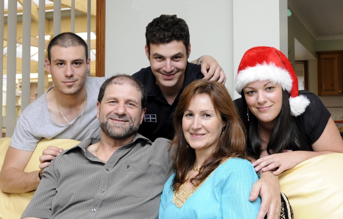 My family on Christmas Day - 2010