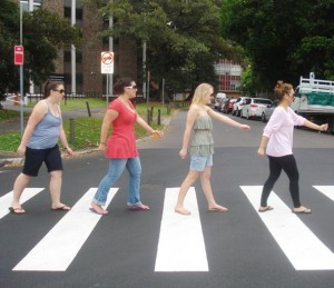 The Crew - Abbey Road Style... in Sydney