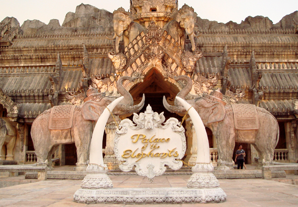 Palace of the Elephants at FantaSea