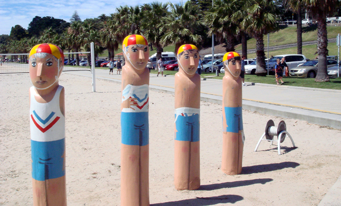 Geelong Beach Bollards 2