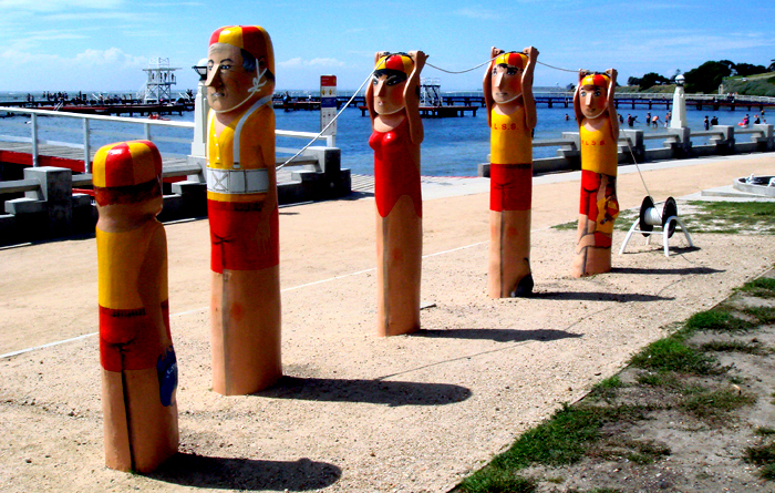 Geelong Beach Bollards 4