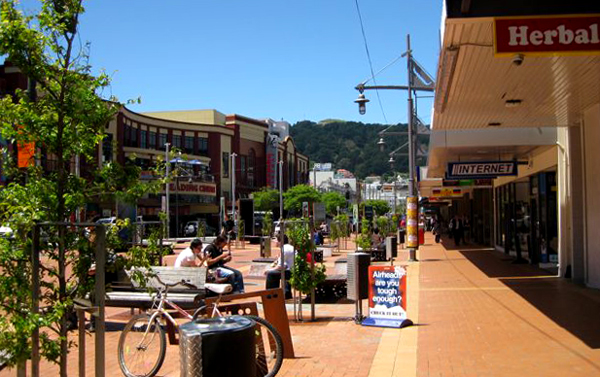 Courtenay Place - Wellington, New Zealand