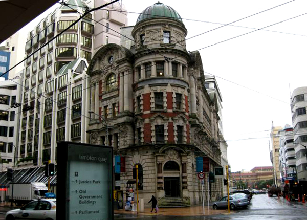 Lambton Quay - Wellington, New Zealand