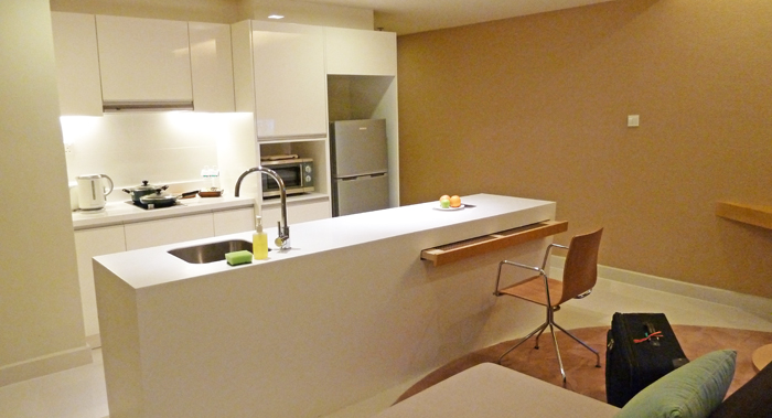 ParkRoyal Serviced Suited, KL - My Kitchen