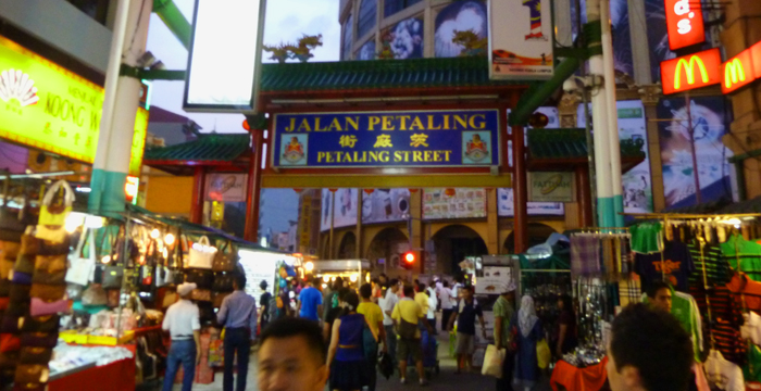 Petaling Street Night Market - Kuala Lumpur