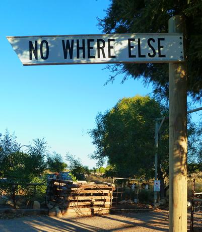 No Where Else, Sheringa, South Australia