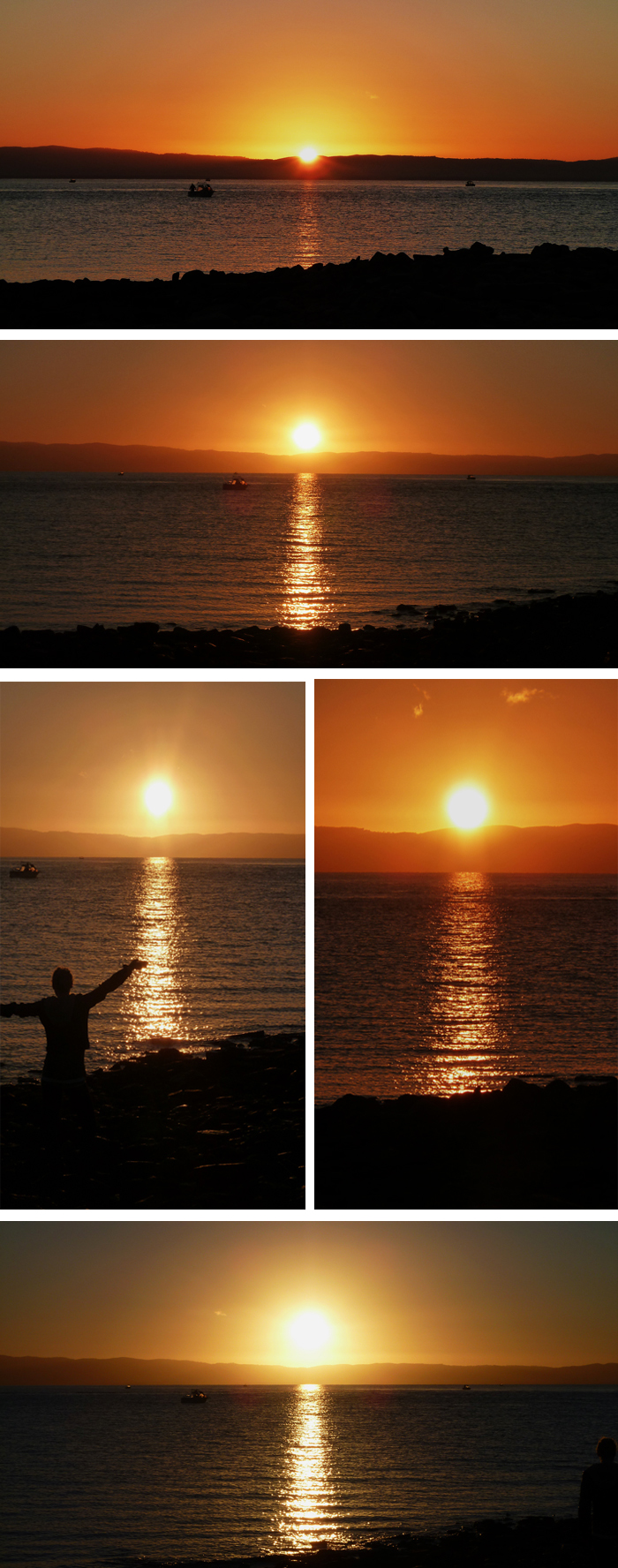 Sunrise at Point Lowly, Whyalla, SA
