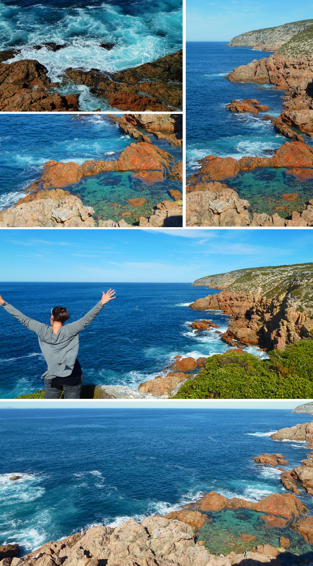 Swimmin' Hole, Whalers Way, South Australia