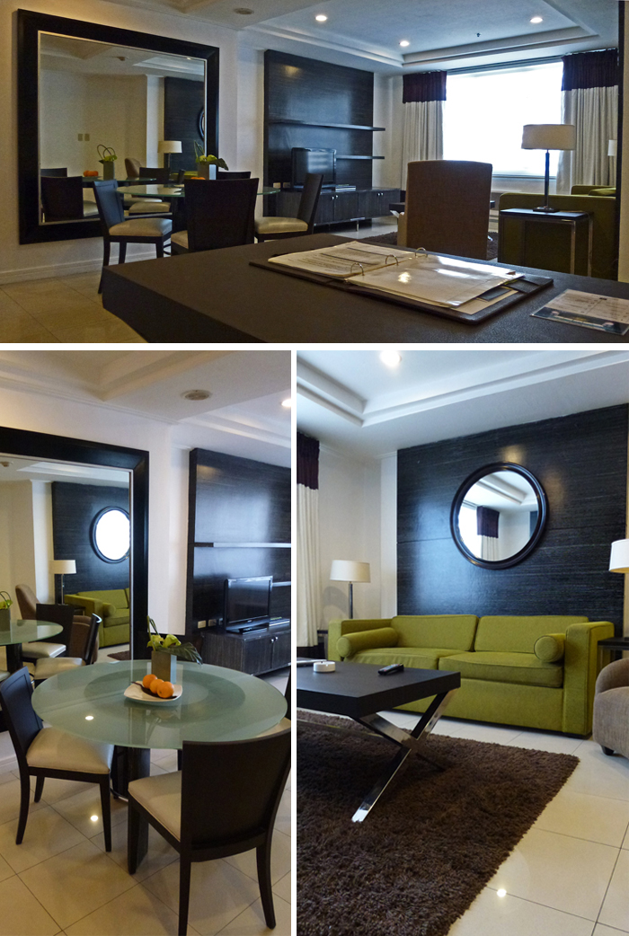 Living Area - Astoria Plaza, Philippines