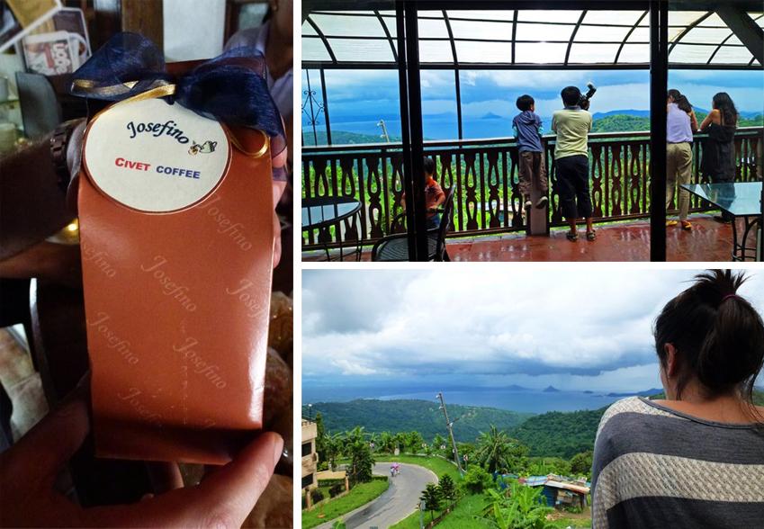 Josefino, Tagaytay - Civet Coffee