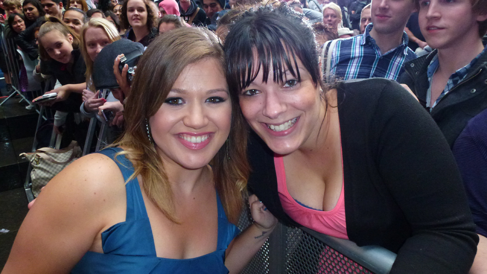 Kelly Clarkson and ME!!!!