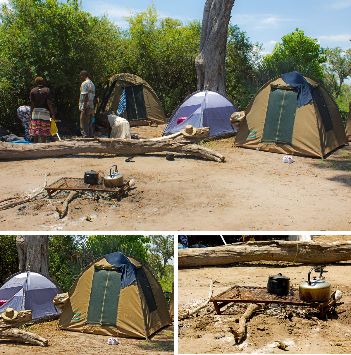 Basic Bush Camp Okavango Delta