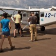 A chartered flight over the Delta followed by a mokoro trip and one night of basic bush camping in the Okavango Delta under the stars.