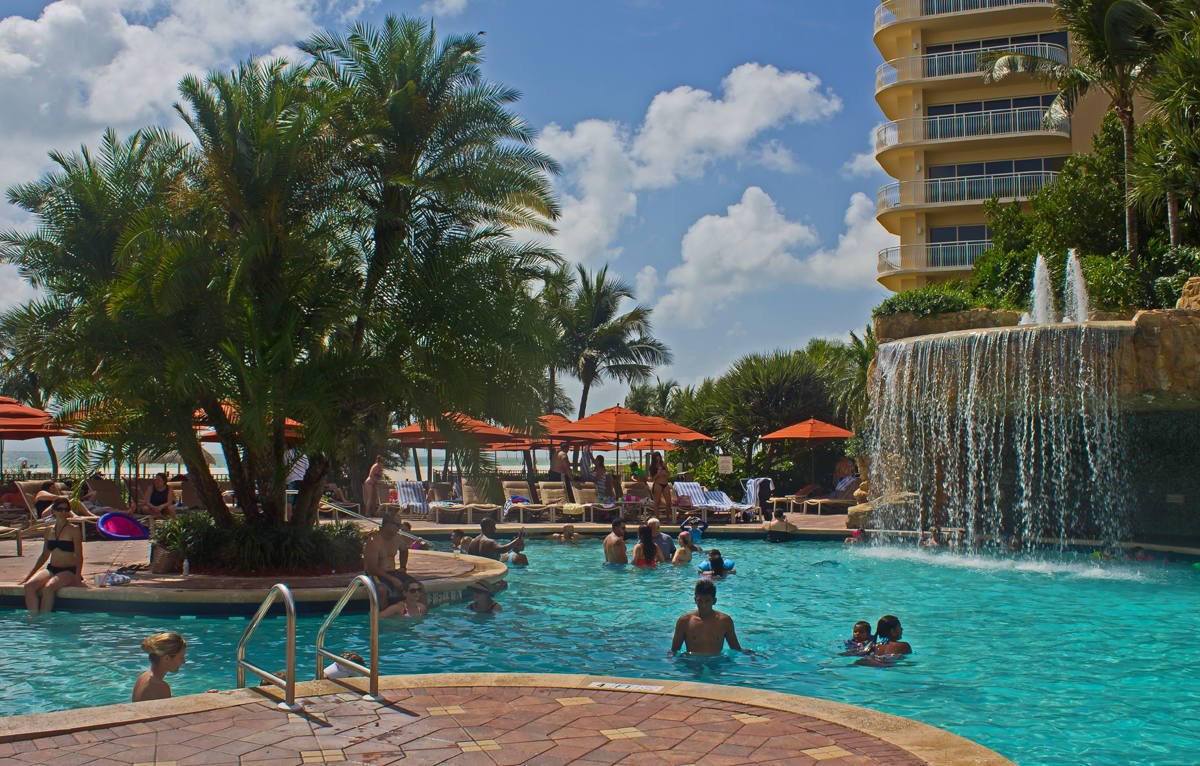 Tiki Pool - Marco Island Marriott Beach Resort