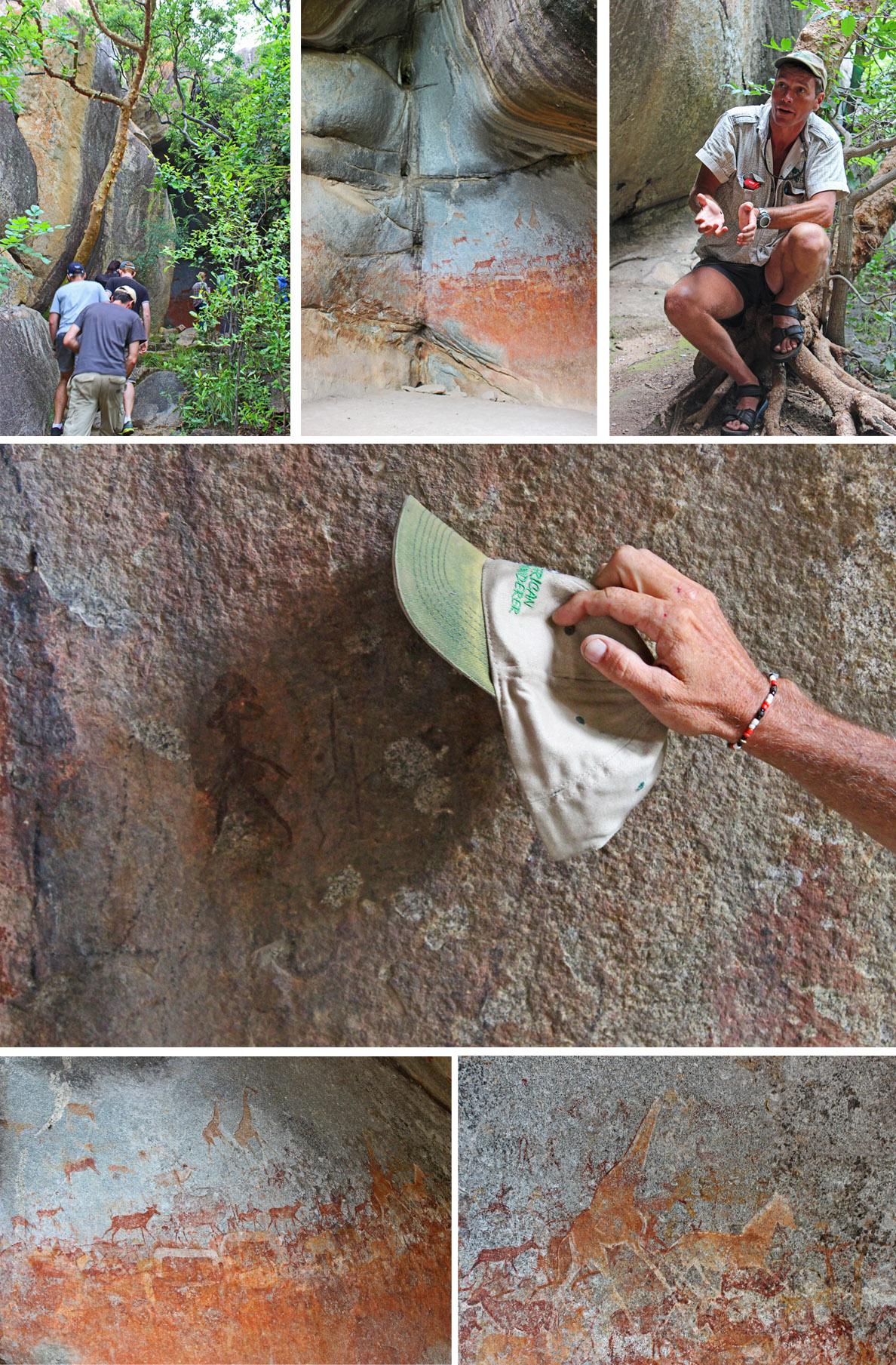 Cave Paintings Matobo National Park, Zimbabwe