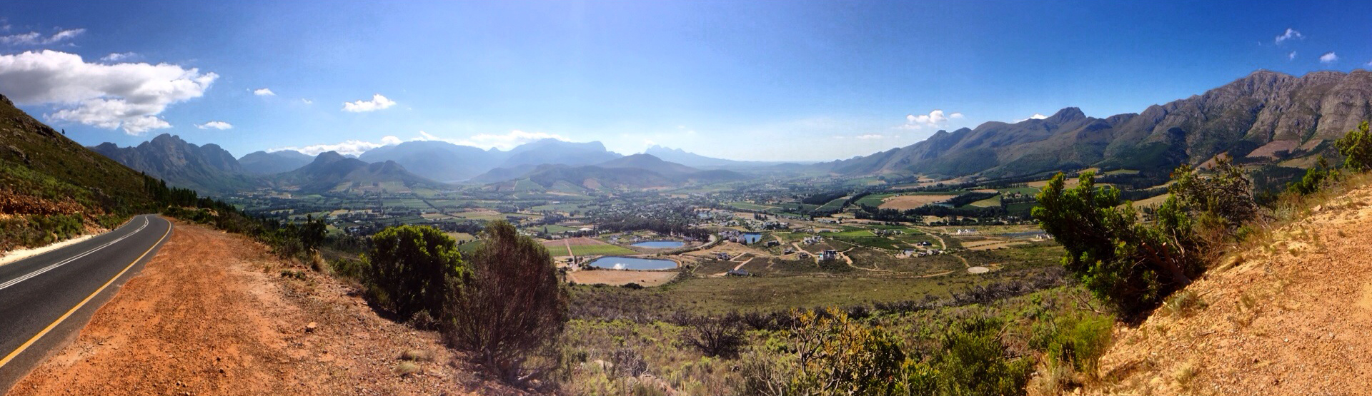 View over Stellenbosch