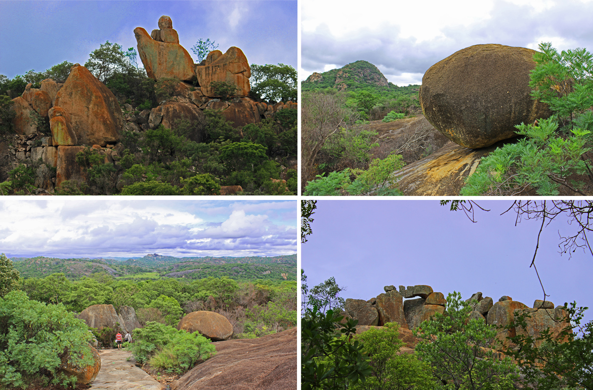 Rock formations Matobo National Park, Zimbabwe