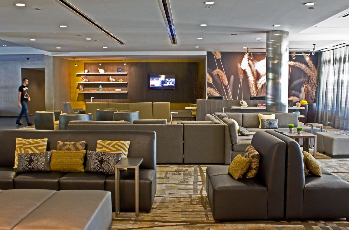 Courtyard Marriott Palm Beach Jupiter Review Lobby