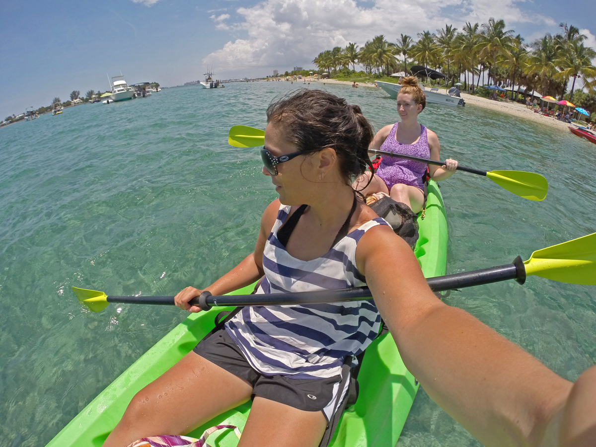 Peanut Island Kayaking