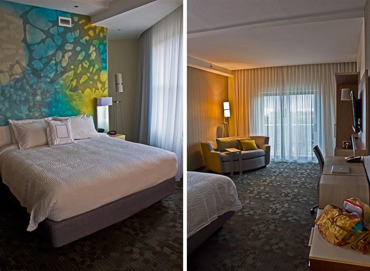 Courtyard Marriott Palm Beach Jupiter Review Room