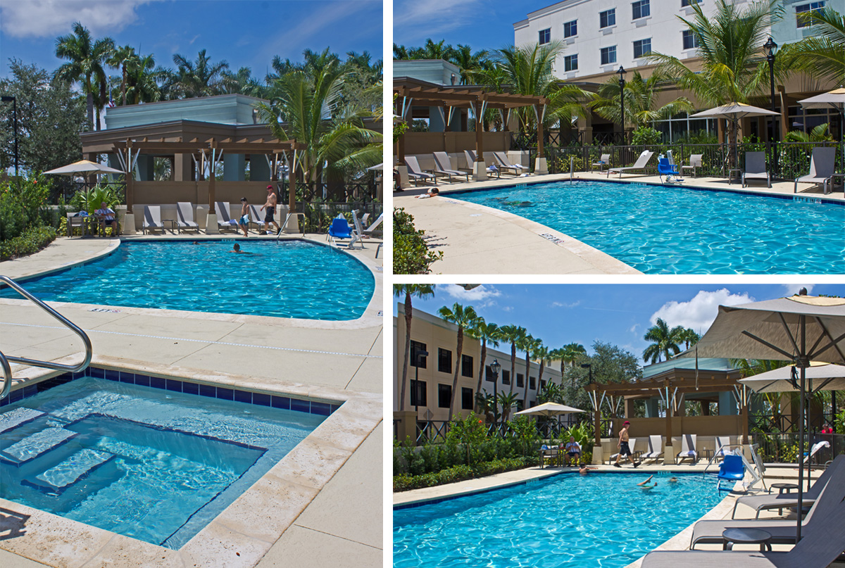 Coutyard Marriott Jupiter Pool