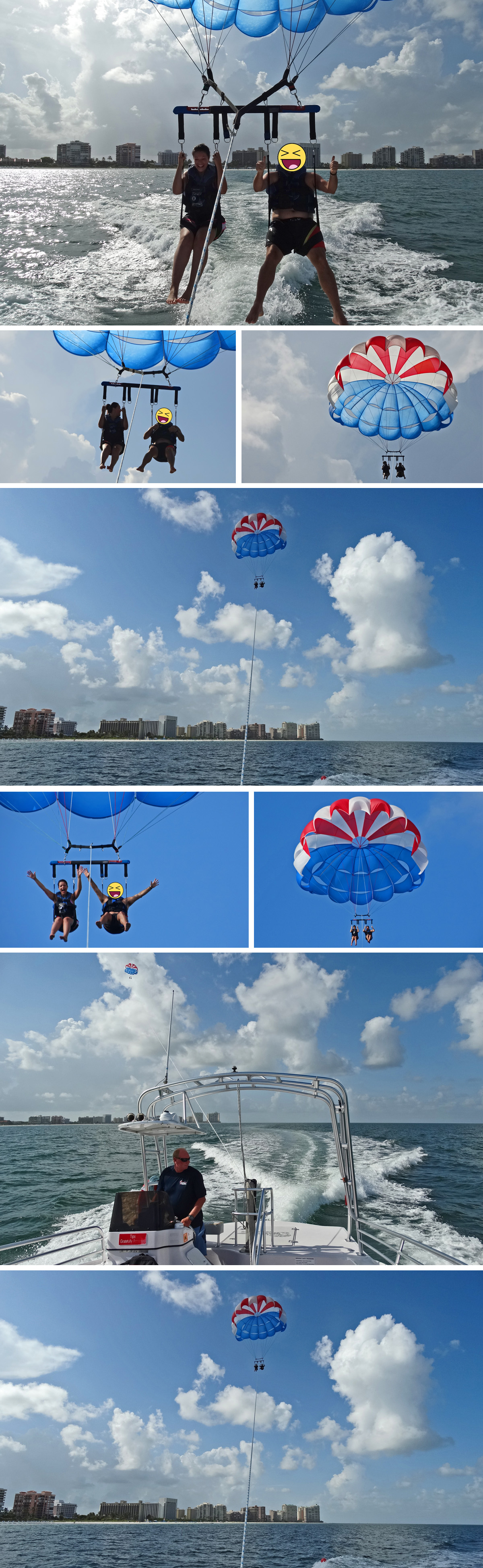 marco island water sports parasailing