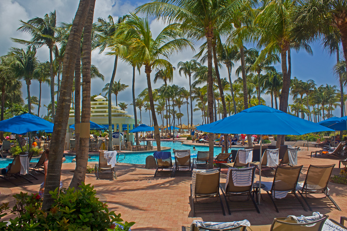 Aruba Marriott Resort Pool