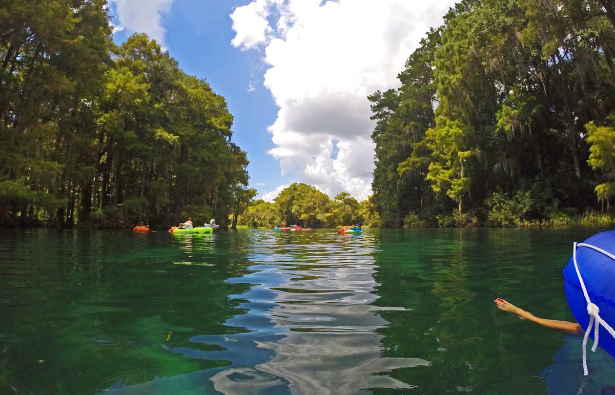 Rainbow River Tubing