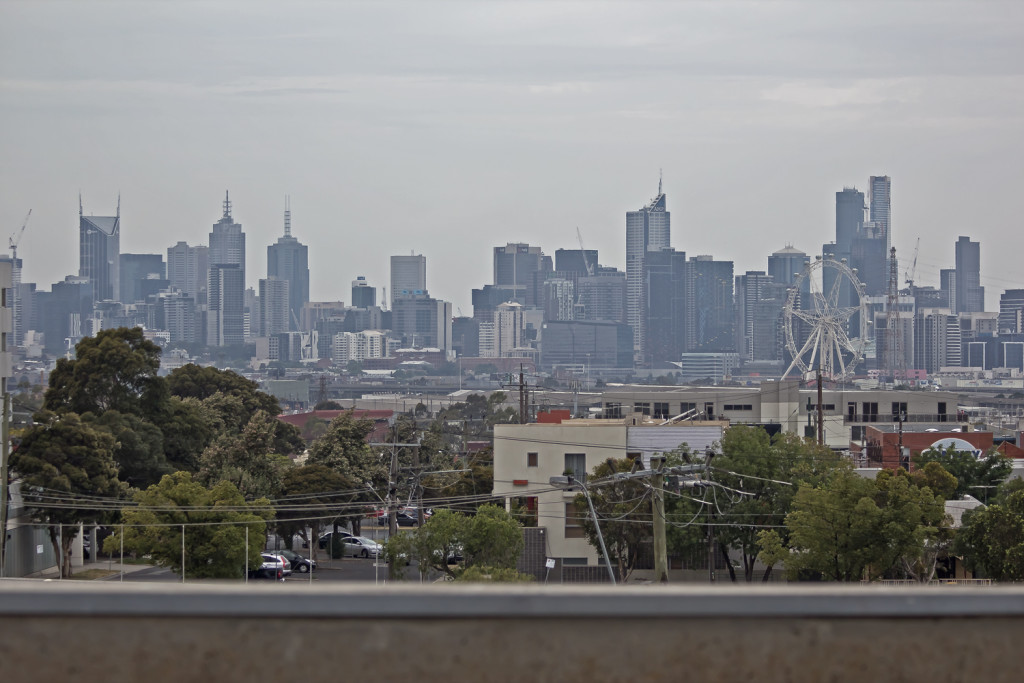 Melbourne Skyline from Footscray