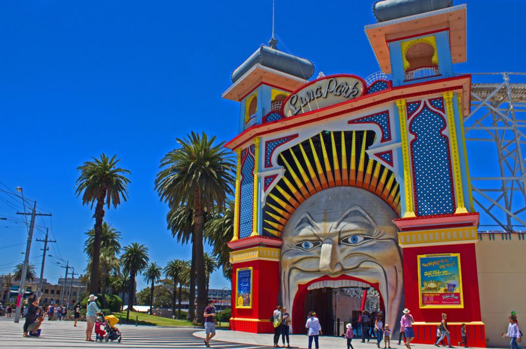 Luna Park, St. Kilda, Melbourne
