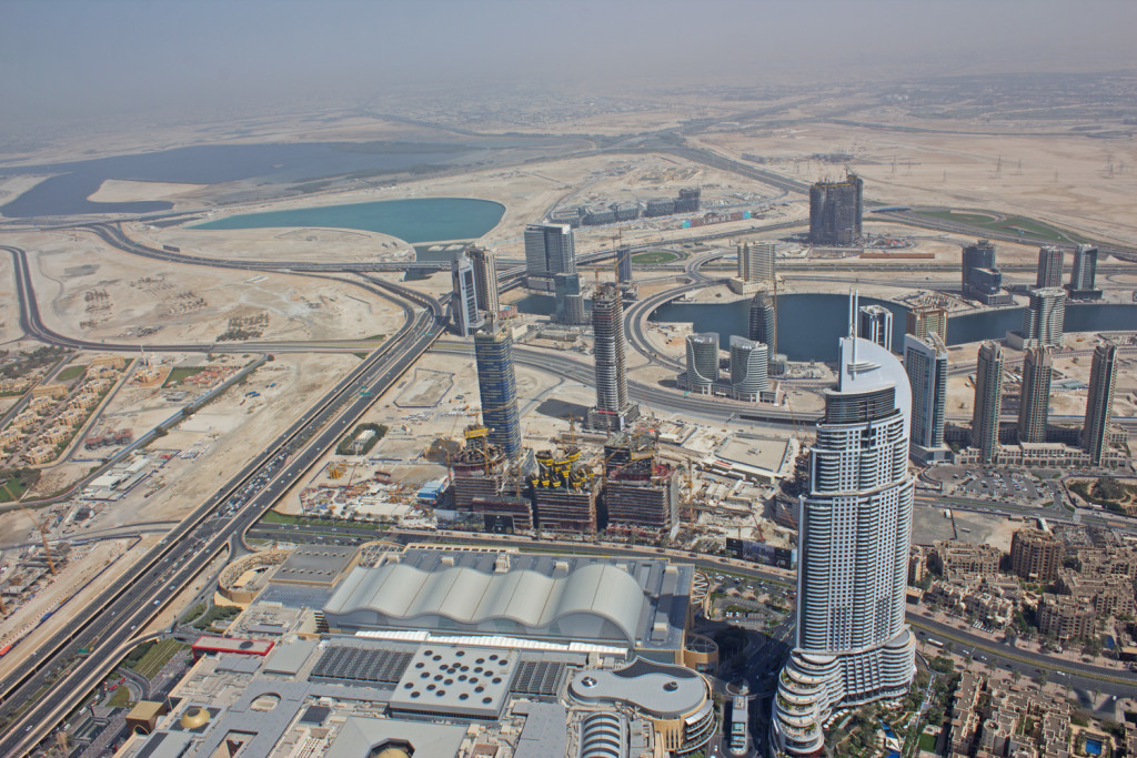 Burj Khalifa Level 124 View