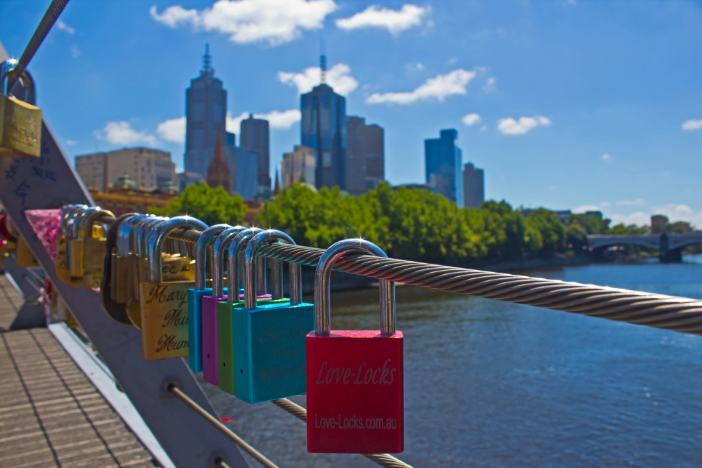 Southbank Footbridge, Melbourne