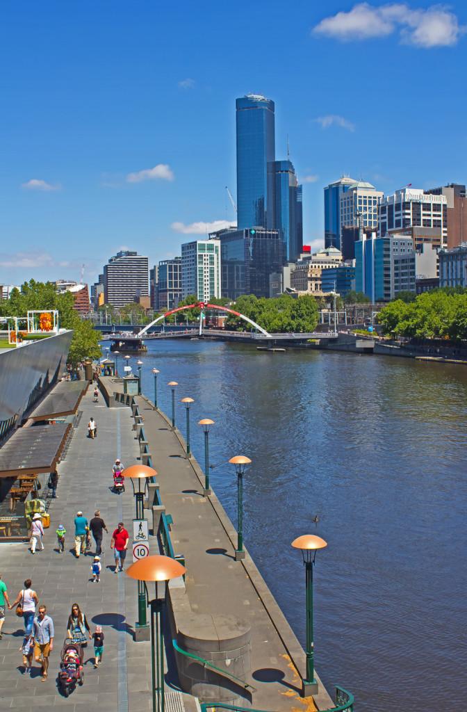 St. Kilda Rd Bridge, Melbourne