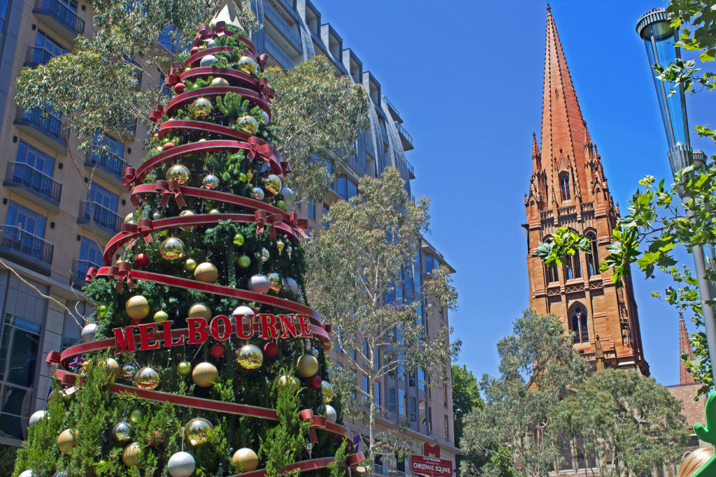 The Westin Melbourne, Christmas Display