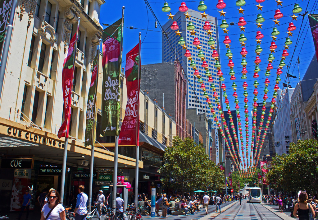 Bourke St, Melbourne Christmas