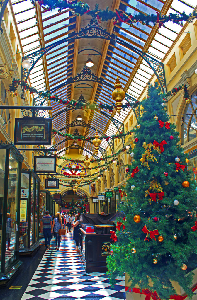 Royal Arcade, Melbourne at Christmas