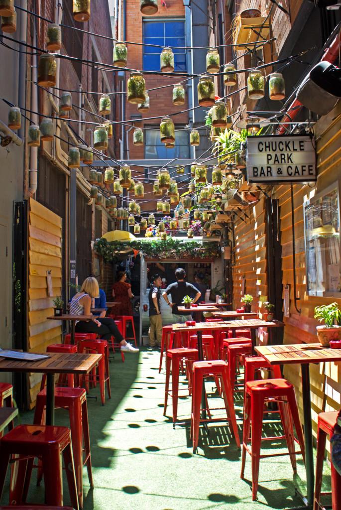 Chuckle Park Cafe, Melbourne