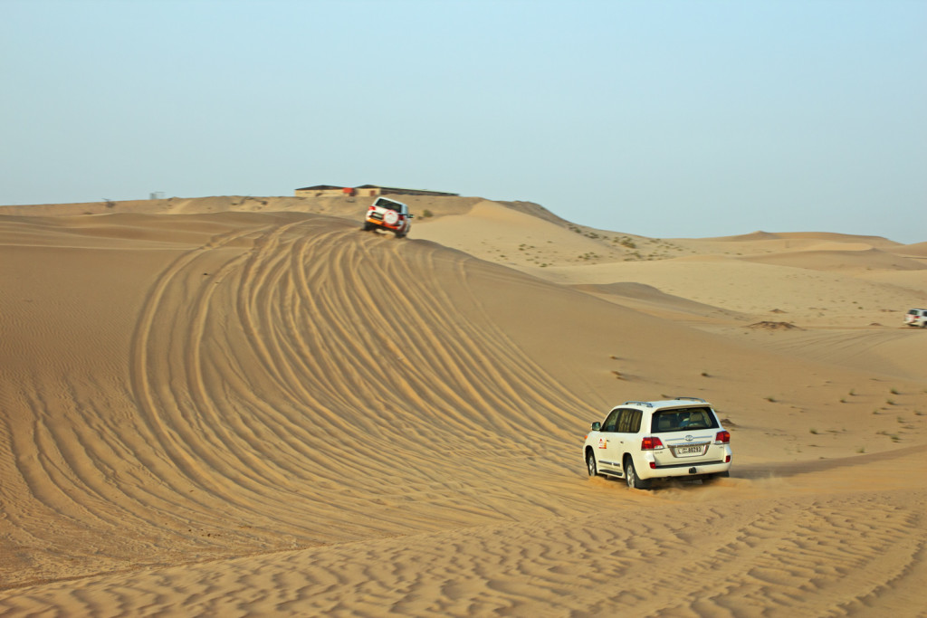 Dune Bashing with Desert Rose Tourism