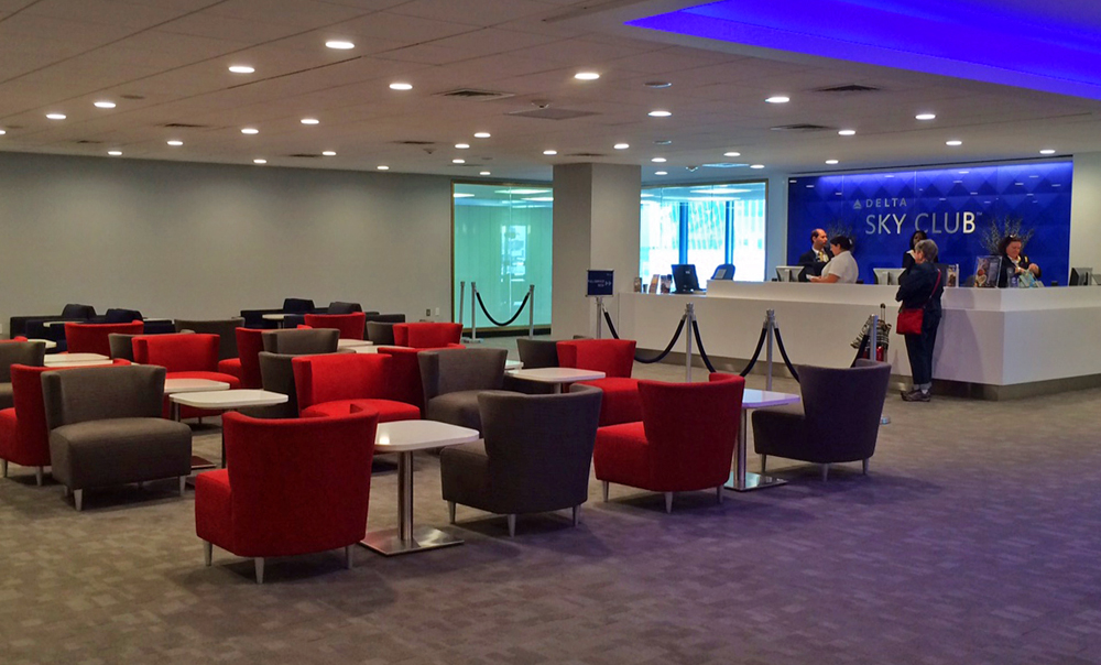 JFK Delta Sky Club Terminal 2 Review