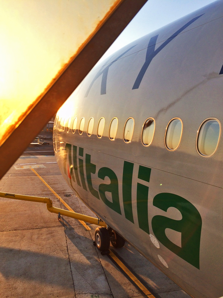 Flight Review Alitalia JFK-Rome