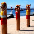 A pictorial stroll along Geelong Beach and Port Melbourne beach in Australia's Garden State, Victoria.